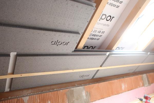 alpor Untersparren-Dämmung für Steil- und Pultdächer