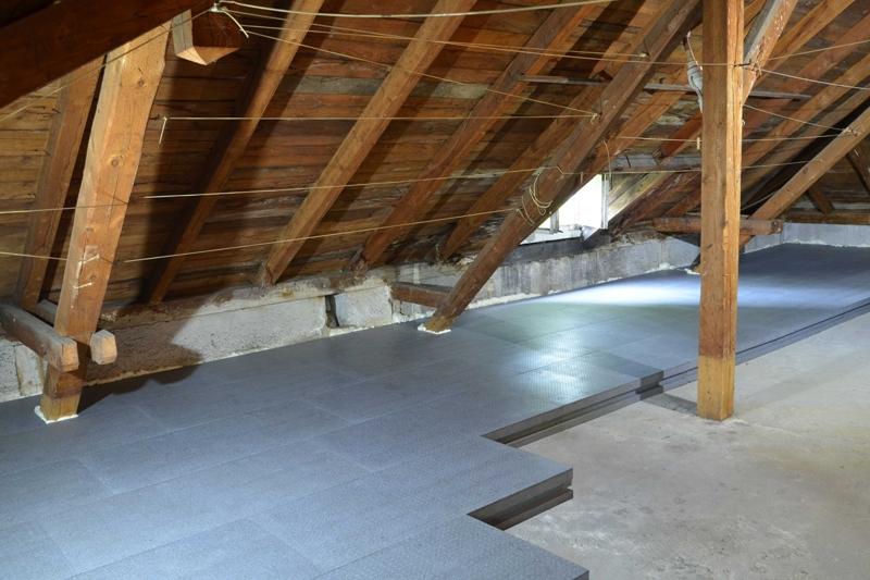 Dachboden Fußboden Dämmen ~ Dämmung oberste geschossdecke dachboden duo