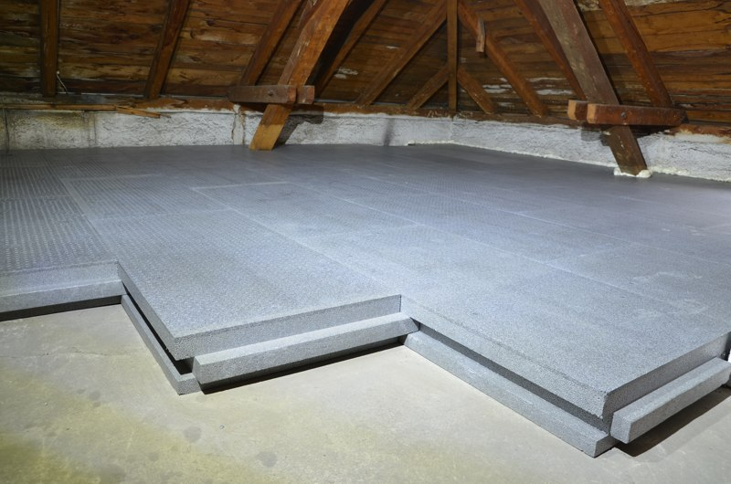 alpor DUO plus Dachboden&shy;d&auml;mmung<br/>mit Trittschutz