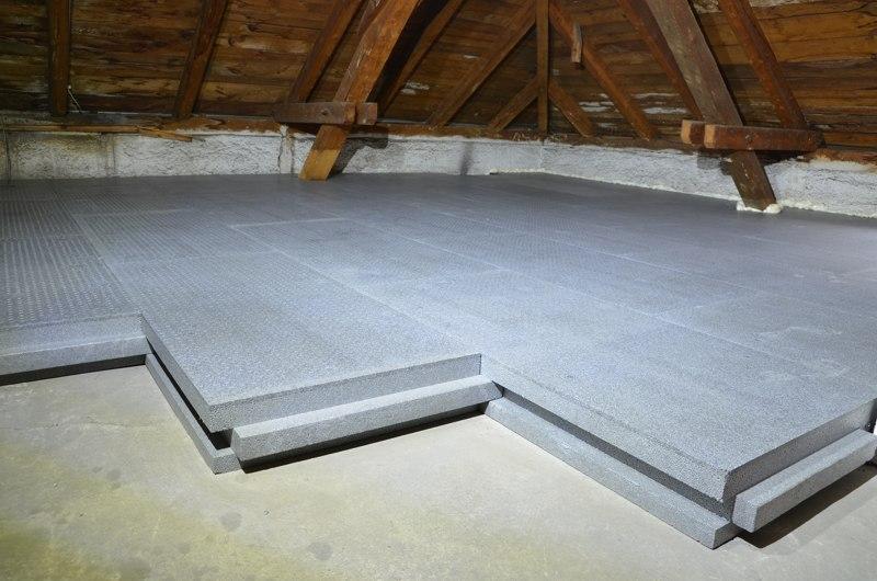 alpor DUO plus Dachbodendämmung<br/>mit Trittschutz