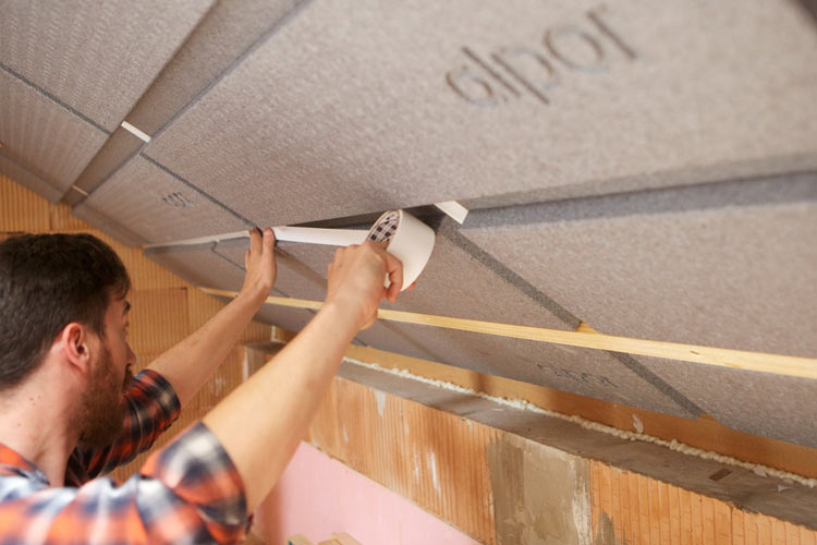 Dämmung für Dach ohne Schalung